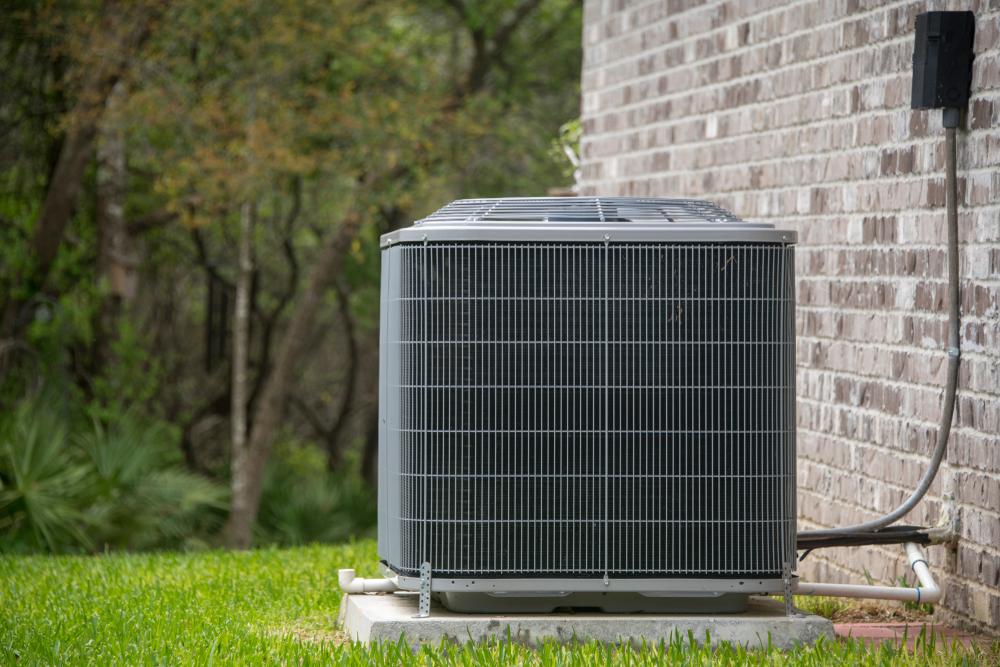 new HVAC unit